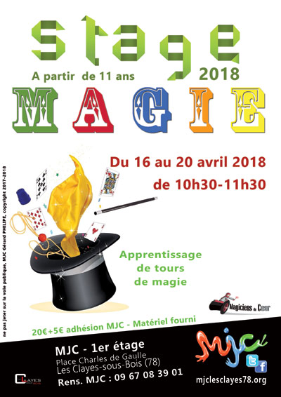 Affiche stage magie web00