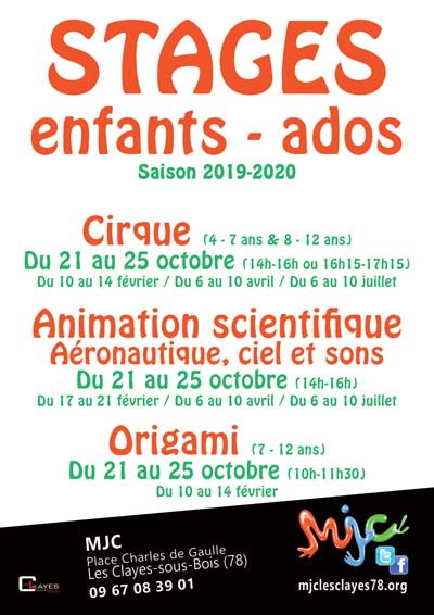 Stages enfants 2019 2020 400web
